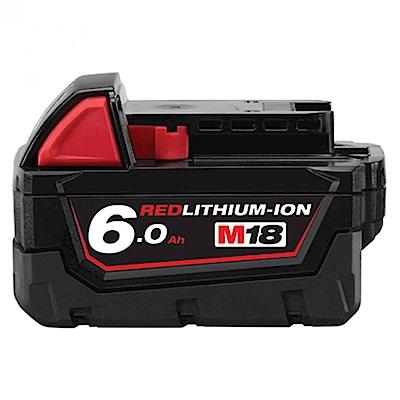 Milwaukee美沃奇 18V鋰電專用電池6.0AH M18B6
