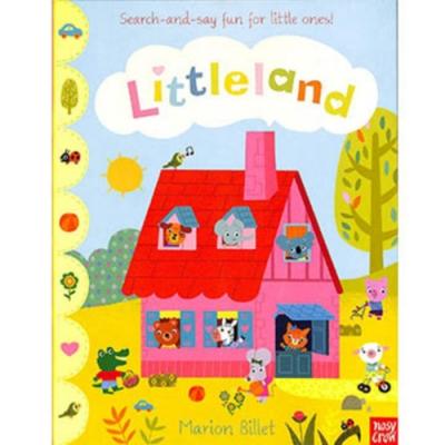 Littleland 小小王國單字學習書(美國版)