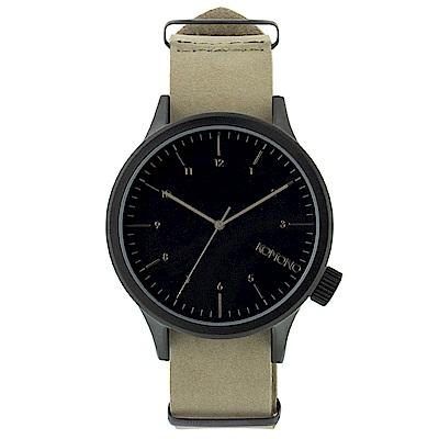 KOMONO Magnus 腕錶-鵝卵石/46mm