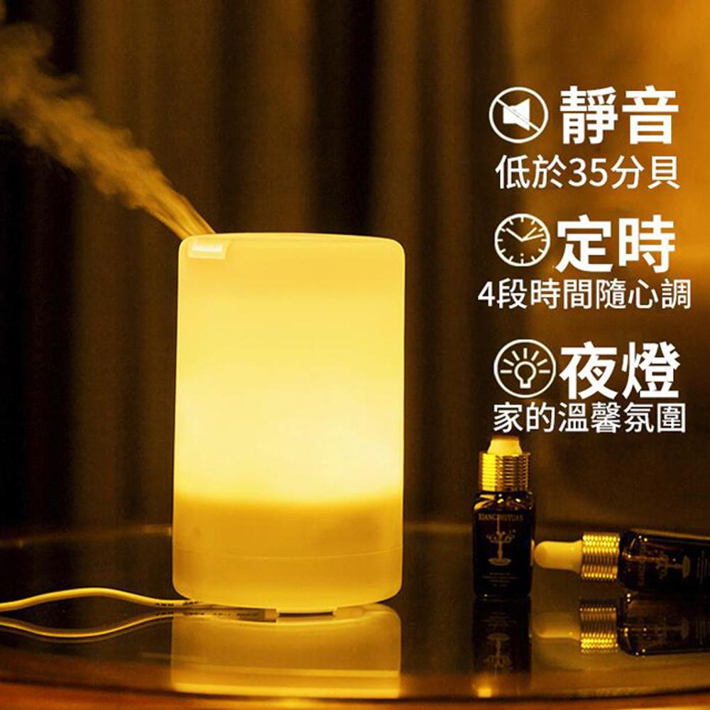 ANTIAN 日式迷你加濕器/香氛機/水氧機/空氣清淨機/七彩小夜燈 [限時下殺]
