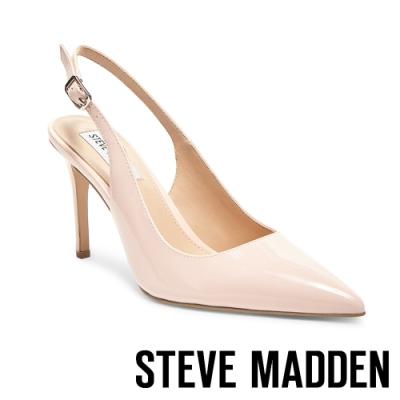 STEVE MADDEN-MACEY淡雅氣質高跟涼鞋-鏡粉色