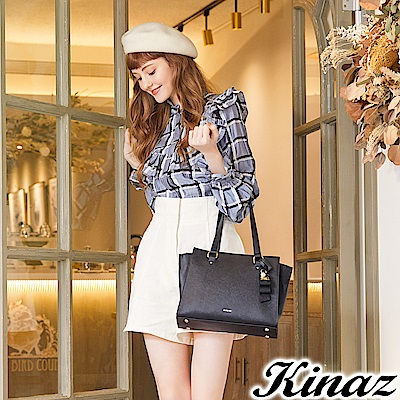 KINAZ 完美心願兩用斜背托特包-星空夜黑-甜蜜禮盒系列-快