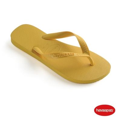 Havaianas哈瓦仕 拖鞋 夾腳拖 人字拖 巴西 男鞋 女鞋 金黃 4000029-0776U Top 基本款素色