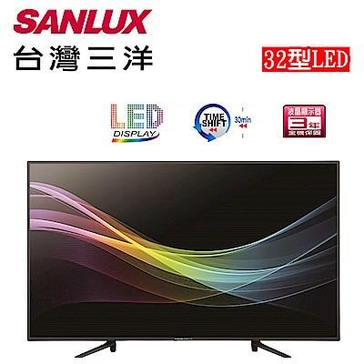 SANLUX 台灣三洋 32型LED背光液晶顯示器-不含視訊盒 SMT-32MA3