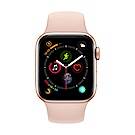 Apple Watch Series 4(GPS+網路)40mm金色鋁金屬錶殼+粉沙色錶帶