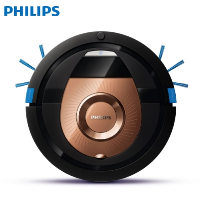 【PHILIPS 飛利浦】6公分超薄智能掃地機器人(FC8776)