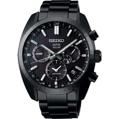 SEIKO 精工 Astron 5X53 雙時區限量GPS衛星定位手錶 SSH023J1