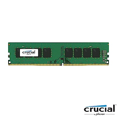 Micron Crucial DDR4 2666/4G RAM(原生顆粒) 桌上型記憶體