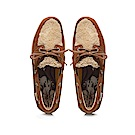 HANNFORT CALIFORNIA羔羊毛帆船鞋-女-暖咖啡