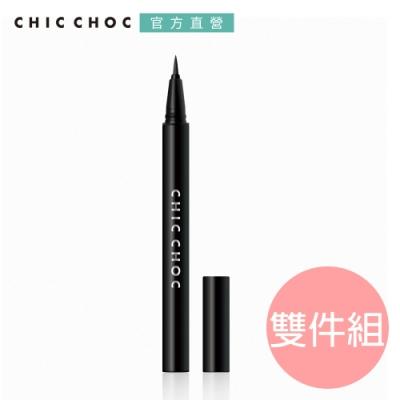 CHIC CHOC 炫黑持久眼線筆BK 暢銷2入組