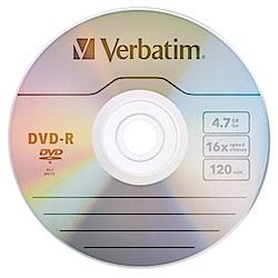 Verbatim 威寶 AZO 銀雀版 16X DVD-R 4.7GB 燒錄片 500片