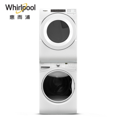 Whirlpool惠而浦15kg洗衣WFW85HEFW+16kg乾衣8TWGD5620HW
