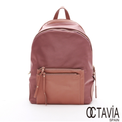 OCTAVIA 8 - WL絕對質感系列  專屬女孩大口袋後背包 - 甜心粉