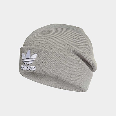 adidas 毛帽 Trefoil Beanie 男女款