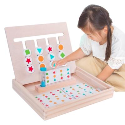 colorland兒童玩具 四色空間排序邏輯遊戲組 益智玩具 學習教具