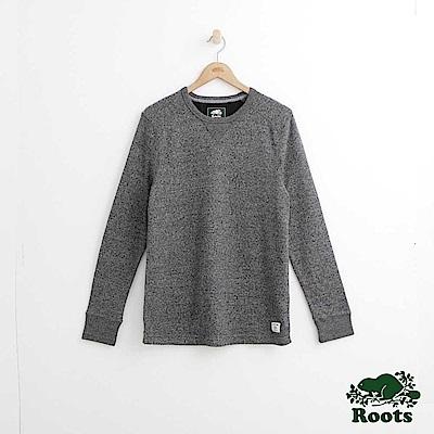 Roots 男裝-基拉尼圓領上衣-灰色