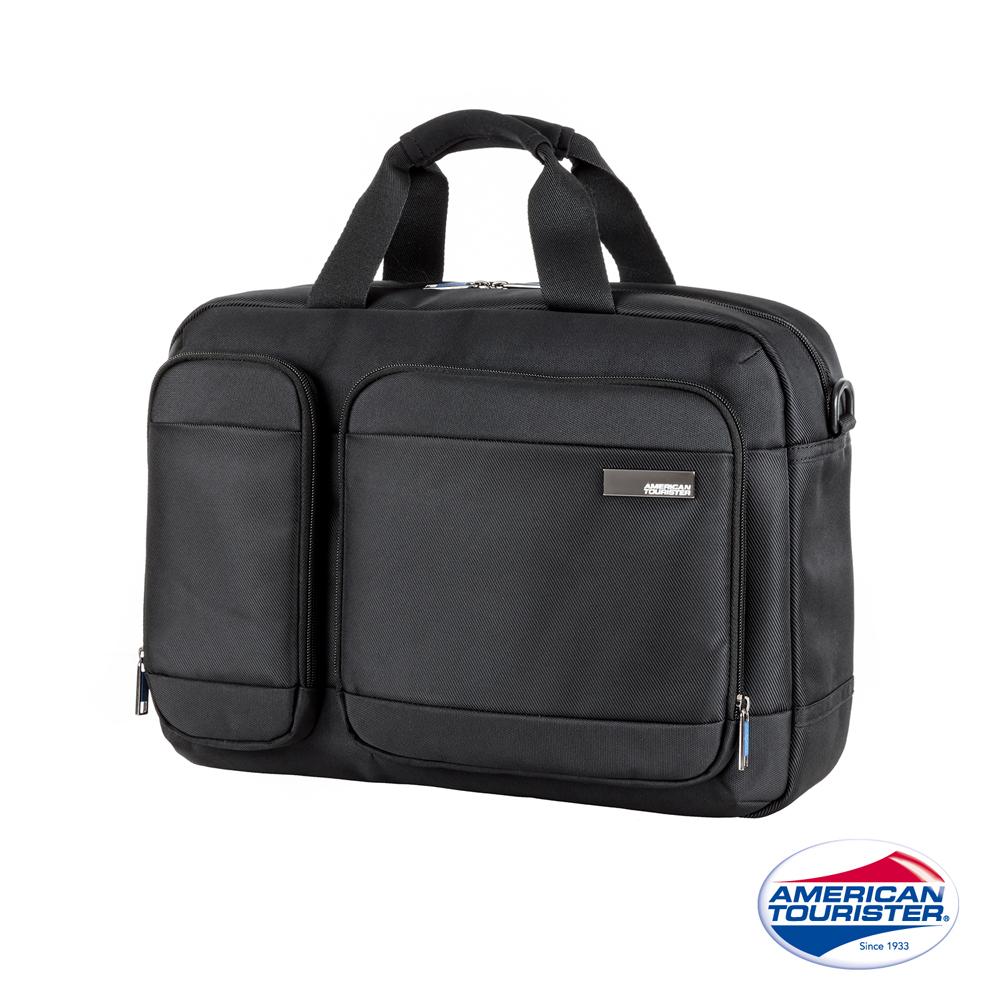 AT 美國旅行者 Nova筆電收納小型公事包15.6 (黑)
