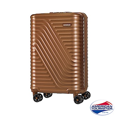 AT美國旅行者20吋High Rock流線硬殼TSA登機箱(古銅)