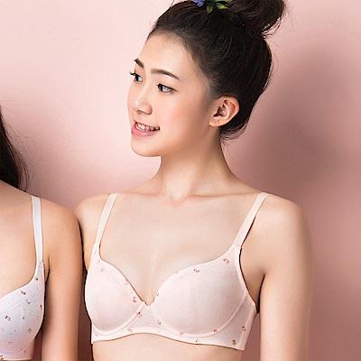 嬪婷-環保系列纖植萃 D-E罩杯內衣(花粉桔)中軟度鋼圈