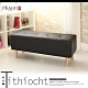 JP Kagu 日式皮沙發椅長凳椅凳111cm-黑色 product thumbnail 1