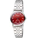 玫瑰錶Rosemont璀璨復刻手錶(BR-01-Rd-mt)-紅