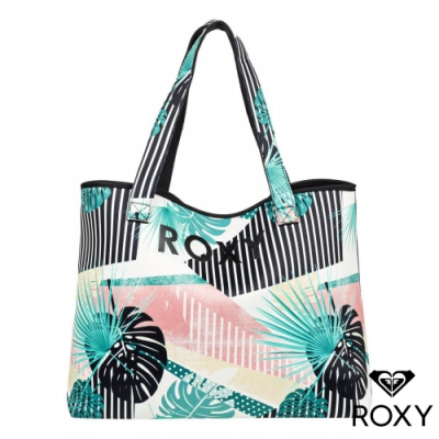 【ROXY】ALL THINGS PRINTED 雙面肩背包 彩色
