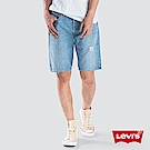 Levis 男款 501經典排釦牛仔短褲 破壞 輕磅 無彈性