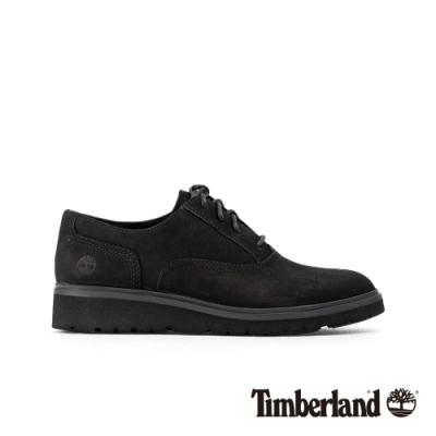 Timberland 女款黑色磨砂革牛津休閒鞋|A1RFM