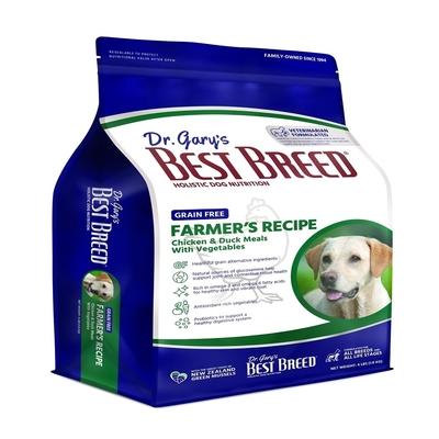 BEST BREED貝斯比-低敏無榖系列-《無榖雞肉 無榖鮭魚》+蔬果配方 13LBS(5.9KG) 全年齡犬隻適用(購買兩件贈送寵鮮食零食1包)(贈全家禮卷50元1張)