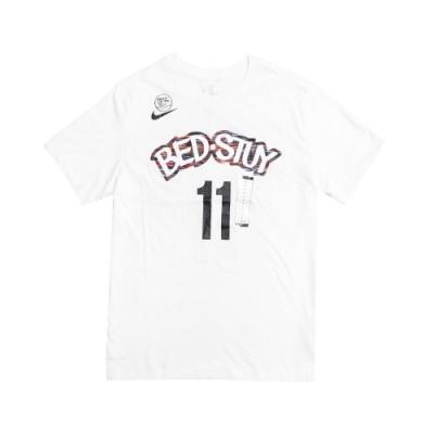 Nike T恤 Kyrie City Edition T 男款 厄文 布魯克林籃網隊 圓領 基本款 11號 白 彩 BV8746100