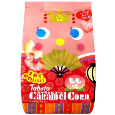 Tohato東鳩 焦糖玉米脆果-桃子風味[期間限定](77g)