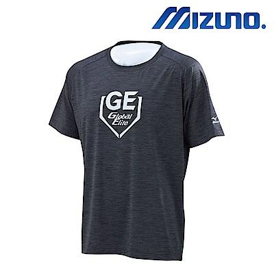MIZUNO GLOBAL ELITE 男圓領排汗短袖運動衣 12TC7L0209