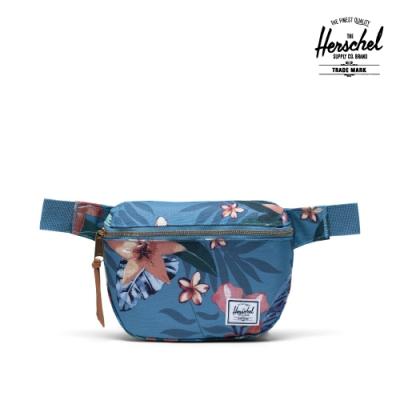 【Herschel】Fifteen 腰包-夏季花天堂藍