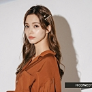 H:CONNECT 韓國品牌 配件 -氣質珍珠髮夾組-金