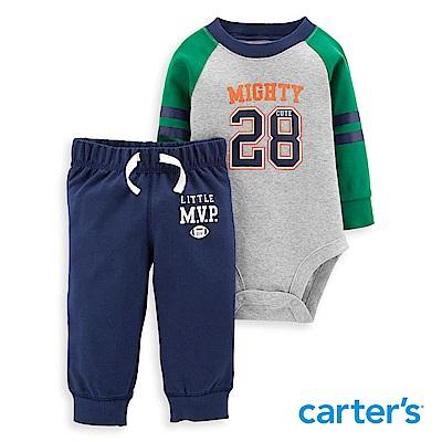 Carter's 運動男孩風格2件組套裝