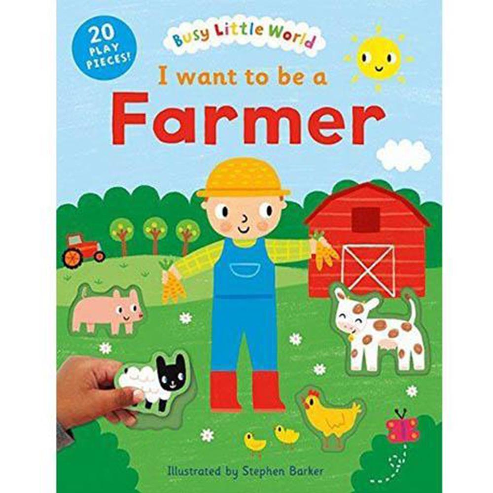 I Want To Be A Farmer 我想當農夫硬頁活動書
