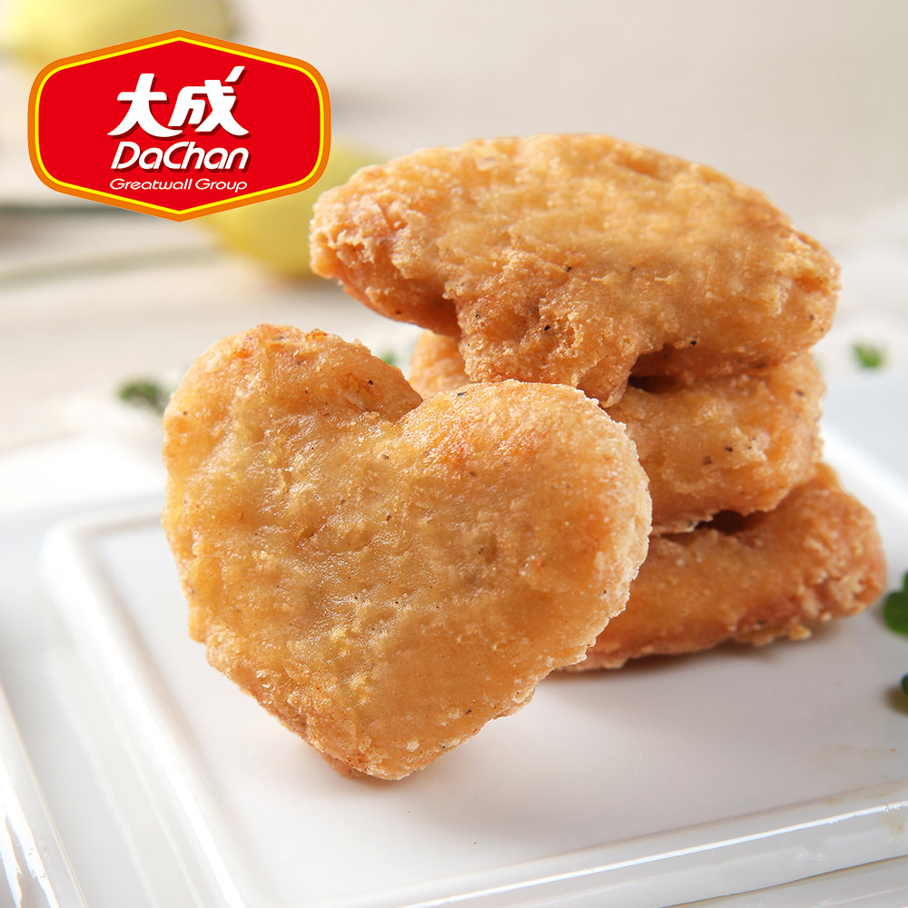 【大成-雞本享受】招牌酥脆勁嫩雞塊 *2包組(1kg/超值勁量包)
