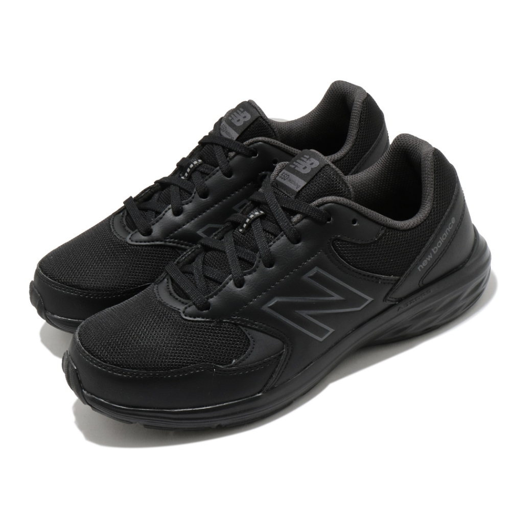 New Balance 慢跑鞋 550 Extra Wide 超寬楦 男鞋 紐巴倫 輕量 透氣 舒適 避震 穿搭 黑 MW550BG24E