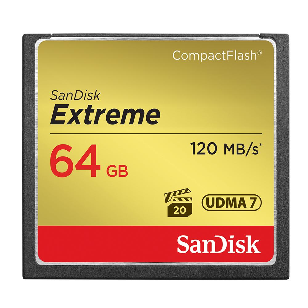 SanDisk Extreme CF 64GB 記憶卡 120MB 公司貨