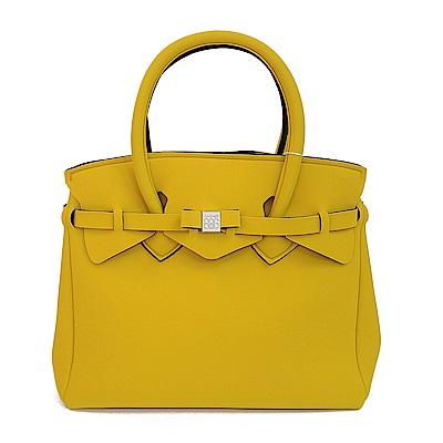 SAVE MY BAG 義大利品牌 MISS系列 芥末黃超輕量手提托特包