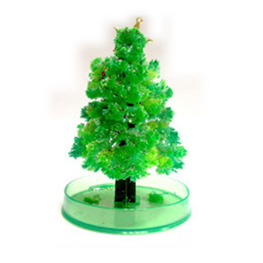 金德恩 台灣製造 DIY 神奇魔法開花成長聖誕樹(小)