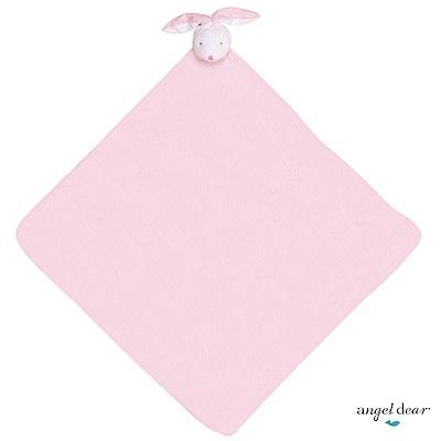 美國 Angel Dear 大頭動物嬰兒毛毯 (粉紅小兔)