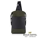 BRAUN BUFFEL - 尼爾系列潮流單肩包 - 橄欖綠