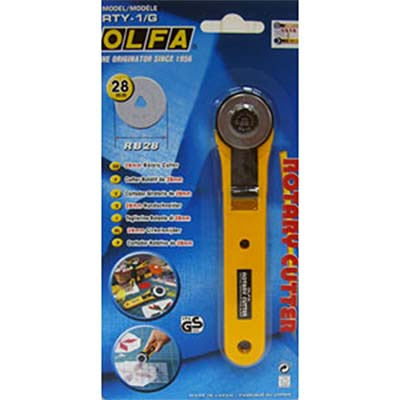 縫紉工具 OLFA 裁刀28mm