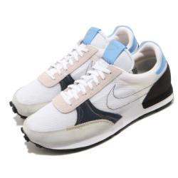 Nike 休閒鞋 Dbreak Type 運動 男女鞋 復古 舒適 簡約 情侶穿搭 輕量 白 藍 CJ1156101