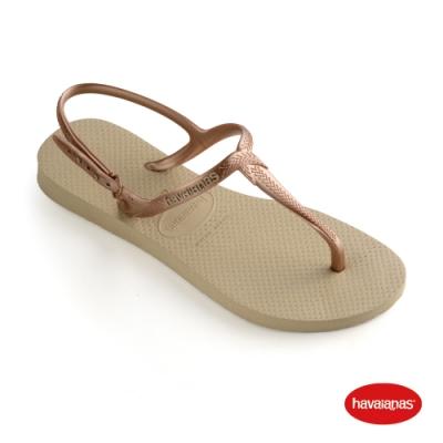 Havaianas 哈瓦仕 拖鞋 涼鞋 巴西 女鞋 沙灰 4144756-0154W Twist