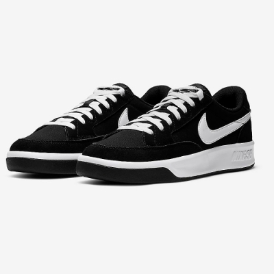 NIKE 滑板鞋 休閒鞋 麂皮 男女鞋 黑 CW7456-001 NIKE SB ADVERSARY PRM