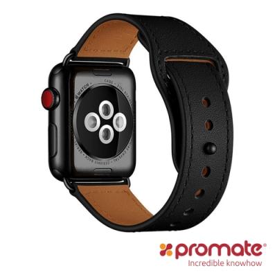Promate Apple Watch 42/44mm 經典真皮錶帶(Genio)