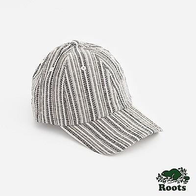 Roots配件- 帕里緹花棒球帽-拚