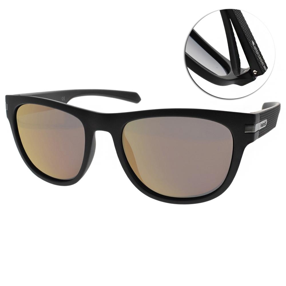 Polaroid 水銀偏光太陽眼鏡 簡約霸氣款/霧黑 #PLD2065S 06WOZ